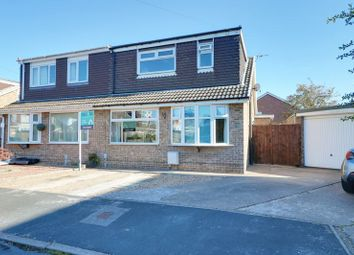 Thumbnail 4 bed semi-detached bungalow for sale in Elm Tree Close, Thorngumbald, Hull