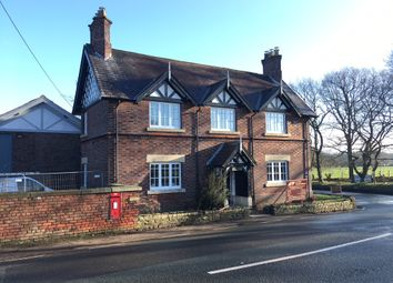 Thumbnail 4 bed detached house to rent in Over Alderley, Macclesfield