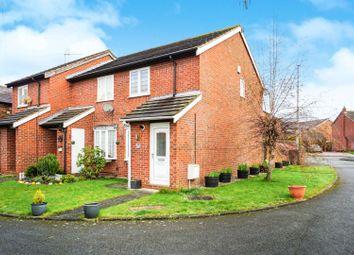 Thumbnail 2 bedroom end terrace house for sale in Barnston Court, Farndon, Chester