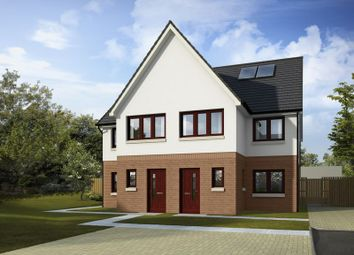 Thumbnail 3 bed property for sale in Plot 17, West Church, Maybole