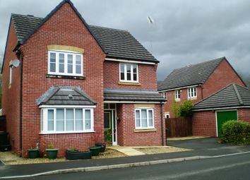 Thumbnail 4 bed detached house to rent in Iris Road, Afon Village, Rogerstone, Newport.