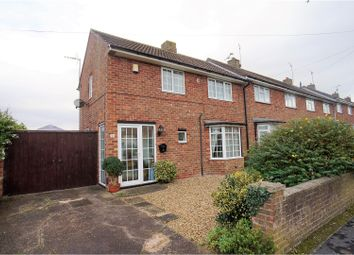 Thumbnail 2 bed end terrace house for sale in Queen Mary Road, Lincoln