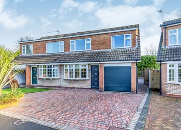 Thumbnail 3 bed semi-detached house for sale in Bromley Drive, Holmes Chapel, Crewe, Cheshire