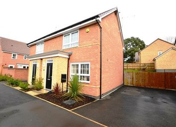 Thumbnail 2 bed semi-detached house for sale in Navigation Way, Cross Heath, Newcastle-Under-Lyme