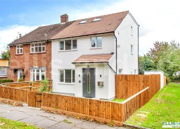 Thumbnail 4 bed semi-detached house to rent in Norbury Grove, Mill Hill, London