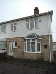 Thumbnail 3 bed semi-detached house to rent in Jubilee Road, Bridgend