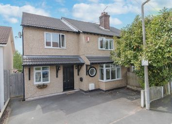 Thumbnail 4 bed semi-detached house for sale in Oaklands Drive, Heswall, Wirral, Merseyside