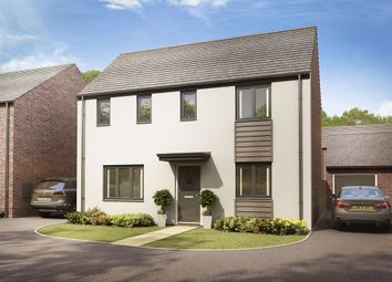 """Thumbnail 3 bed detached house for sale in """"The Clayton"""" at Llantrisant Road, Capel Llanilltern, Cardiff"""