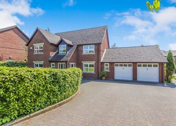 Thumbnail 4 bed detached house for sale in Lawrence Close, Cranage, Crewe