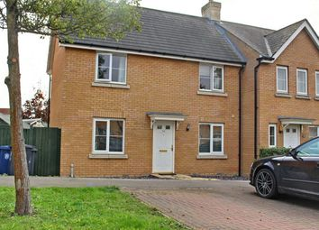 Thumbnail 3 bed end terrace house for sale in Mayfield Way, Great Cambourne, Cambourne, Cambridge