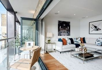 Thumbnail 3 bed property to rent in Oxbridge Terrace, Palace Wharf, Rainville Road, London