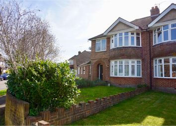 Thumbnail 4 bed semi-detached house for sale in Whyke Road, Chichester