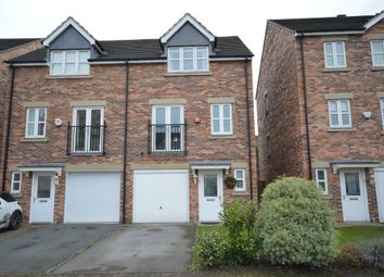 Thumbnail 3 bed town house for sale in Temple Court, Wakefield