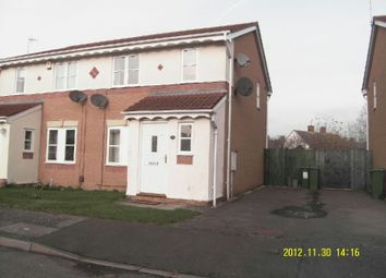 Thumbnail 3 bedroom semi-detached house to rent in Haskell Close, Thorpe Astley, Braunstone, Leicester