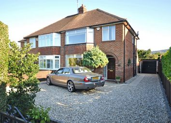 Thumbnail 3 bed semi-detached house for sale in Leckhampton, Cheltenham, Gloucestershire