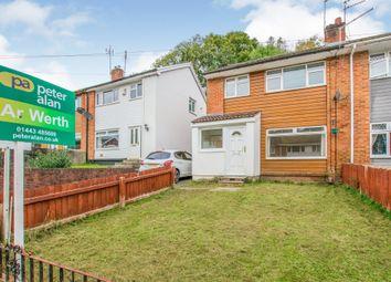 Thumbnail 3 bedroom semi-detached house for sale in Dan-Yr-Allt Close, Rhydyfelin, Pontypridd
