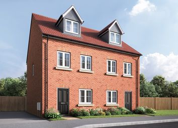 """Thumbnail 3 bed semi-detached house for sale in """"The Wyatt"""" at Amos Drive, Pocklington, York"""