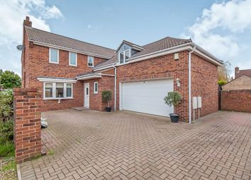 Thumbnail 4 bed detached house for sale in New Road, Whittlesey, Peterborough
