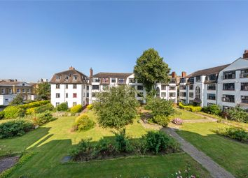 Thumbnail 3 bed flat for sale in Manor Court, Leigham Avenue, London