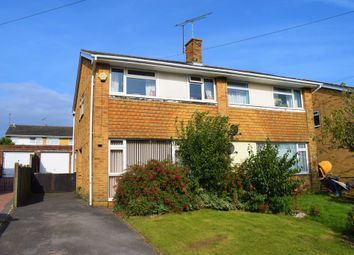 Thumbnail 3 bed semi-detached house for sale in Brunswick Road, Fair Oak, Eastleigh