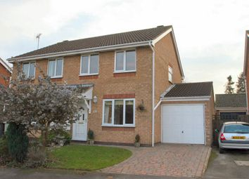 Thumbnail 3 bed semi-detached house to rent in Nightingale Way, Oakham