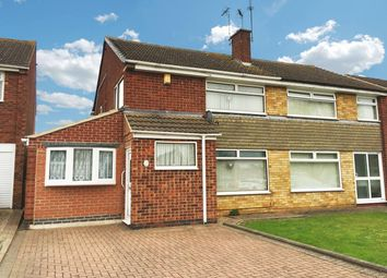 Thumbnail 4 bed semi-detached house for sale in Shelley Road, Enderby, Leicester
