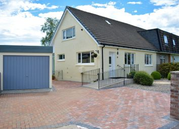 Thumbnail 3 bed semi-detached house for sale in Tannahill Terrace, Dunblane, Perthshire