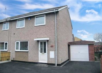 Thumbnail 3 bed semi-detached house for sale in Downing Gardens, Bulwell, Nottingham