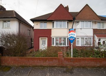 Thumbnail 3 bed semi-detached house for sale in Priory Close, London