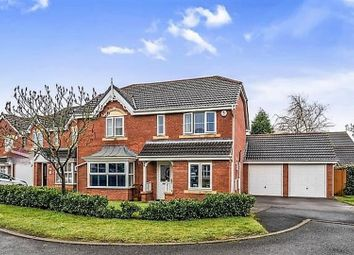Thumbnail 4 bed detached house for sale in Turf Close, Cannock