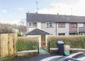 Thumbnail 3 bed terraced house for sale in Darent Close, Bettws, Newport