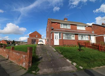 Thumbnail 3 bed semi-detached house for sale in Crediton Avenue, Bradeley, Stoke-On-Trent