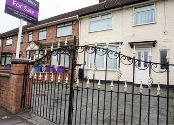 Thumbnail 3 bed terraced house for sale in East Lancashire Road, Liverpool
