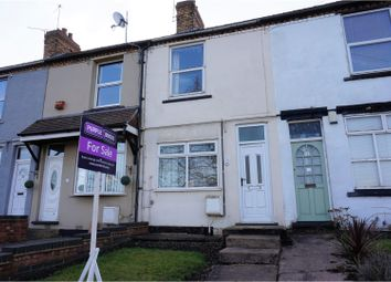 Thumbnail 2 bed terraced house for sale in Rawnsley Road, Cannock