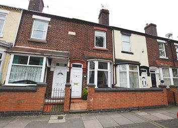 Thumbnail 2 bed terraced house for sale in Campbell Road, Stoke, Stoke-On-Trent