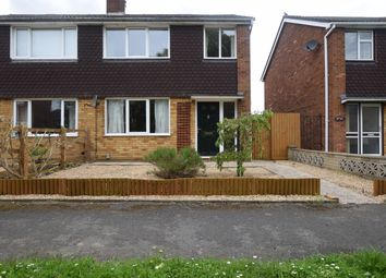 Thumbnail 3 bed semi-detached house to rent in Sweeting Avenue, Little Paxton, St. Neots