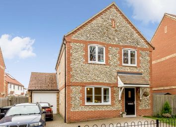 Thumbnail 3 bedroom detached house to rent in The Street, Marham, King's Lynn