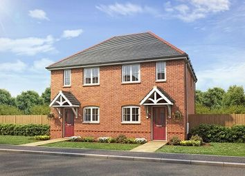 Thumbnail 2 bed semi-detached house for sale in Village Road Northop Hall, Flintshire