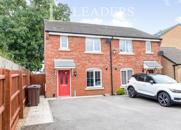 Thumbnail 3 bed semi-detached house to rent in Damselfly Road, Northampton