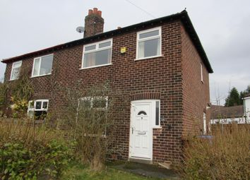 Thumbnail 3 bed semi-detached house for sale in Whitebank Avenue, Stockport