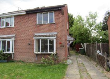 Thumbnail 2 bed semi-detached house for sale in 30 Willow Road, New Balderton, Newark, Nottinghamshire