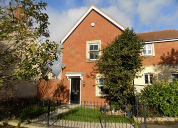 Thumbnail 3 bedroom end terrace house for sale in Eastbury Way, Swindon