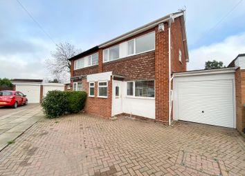Thumbnail 3 bed semi-detached house for sale in Hargrave Close, Water Orton, Birmingham