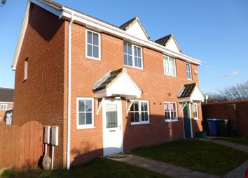 Thumbnail 2 bedroom semi-detached house to rent in Speedwell Way, Norwich