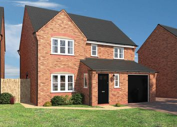 "Thumbnail 4 bed detached house for sale in ""The Hereford"" at Loughborough Road, Rothley, Leicester"