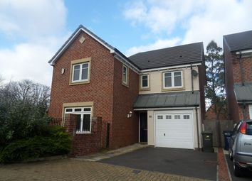 Thumbnail 4 bedroom detached house for sale in Manor Park, High Heaton, Newcastle Upon Tyne