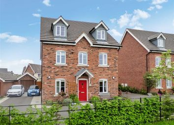 Thumbnail 5 bed detached house for sale in St Andrews Close, Wychwood Village, Crewe