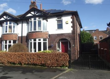 Thumbnail 3 bedroom semi-detached house to rent in Beechwood Avenue, Romiley, Stockport