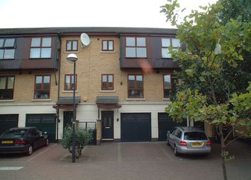 Thumbnail 3 bed town house to rent in Keats Avenue, London