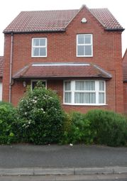 Thumbnail 3 bed detached house to rent in Gloucester Close, Bracebridge Heath, Lincoln